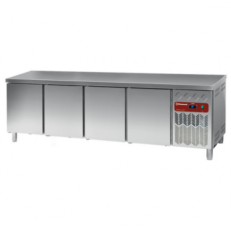 Table frigorifique ventilée 4 portes 760L - DP255/PC-R2 Diamond